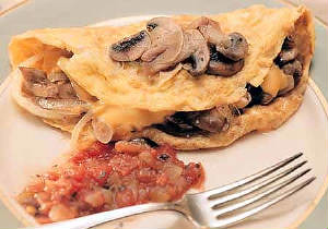 Paris - Omelette Champignon
