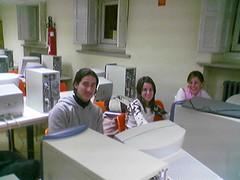Marta, Isabel y Antonio