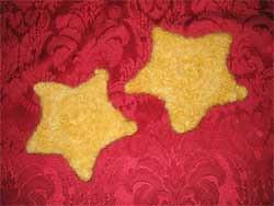felted stars