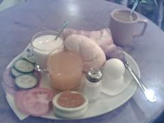 'Tango' breakfast