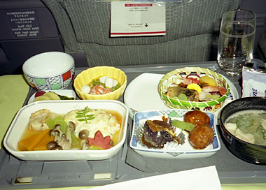 hawaii image flight meal