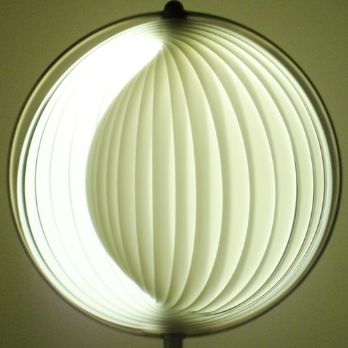 squared circle ~ curl lamp closed | by striatic