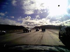 Coming back from poway train park, heading to hobby store in kearny mesa.