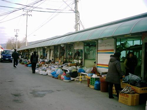 City market scene