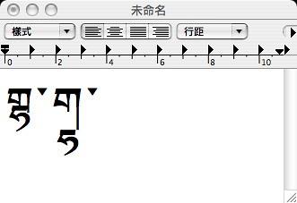 字體的轉寫