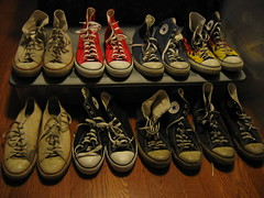 I think I'm the only man I know with more shoes than his wife.