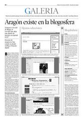Blogs en 'Heraldo de Aragón' (pág 40)