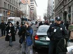 Photographers, police