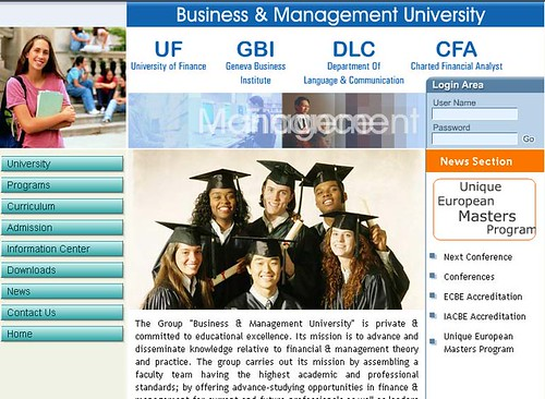 Business Management University Geneva Switzerland - BBA MBA Courses in Geneva Switzerland | by manojmohanan