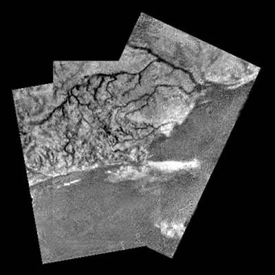 titan coastline