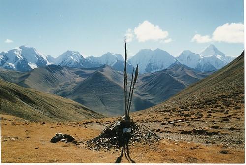 Minya Konka peaks, near Kangding