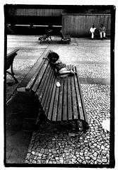 Criança moradora de rua