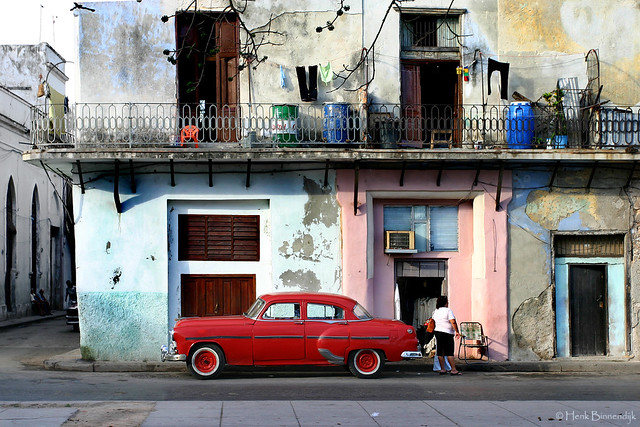 Cuba: Havana classic car scene