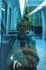 Hjemtur i metro.
