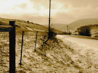 meandering-fence-sepia | by nucof