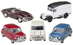 Original 'The Italian Job' cars