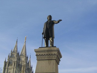 Brigham Young Statue, Just Outside Temple Square, Salt Lake City, Utah | by Ken Lund