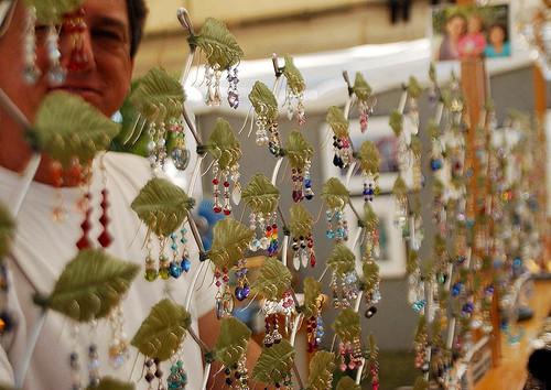 Jewelry salesman   by Beth Rankin