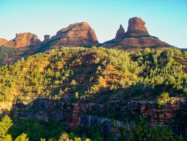 Wilson Canyon in Sedona, Arizona - Shadows