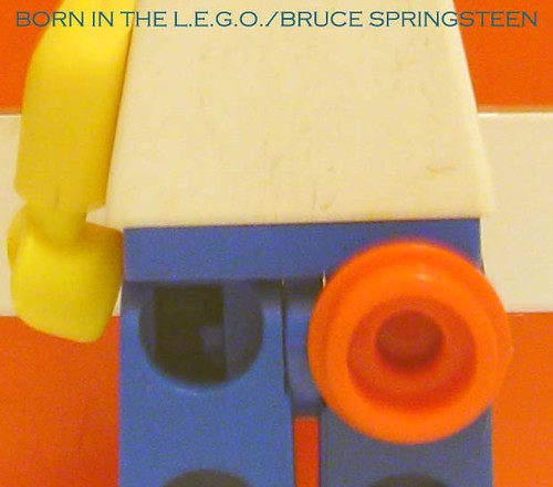 minifig album covers # 2: Born In The L.E.G.O. | by minifig