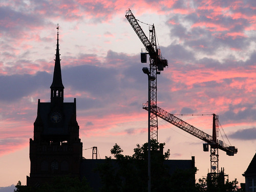 Construction at the Town Hall | by M Kuhn