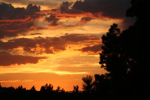 sunset clouds landscape excapture