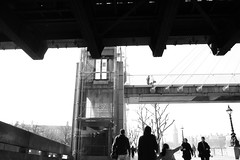 London Southbank bw