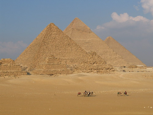 Giza Pyramids (Cairo, Egypt) | by gloria_euyoque