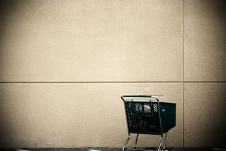Cart.  Wall.  Lines. | by Divine in the Daily