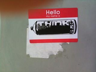 Think Austin streetart