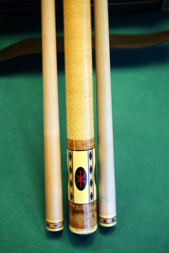 Meucci David Howard | FOR SALE Star of David cue made for Da… | Flickr