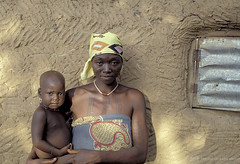 Portrait of mother and child. Ghana   by World Bank Photo Collection