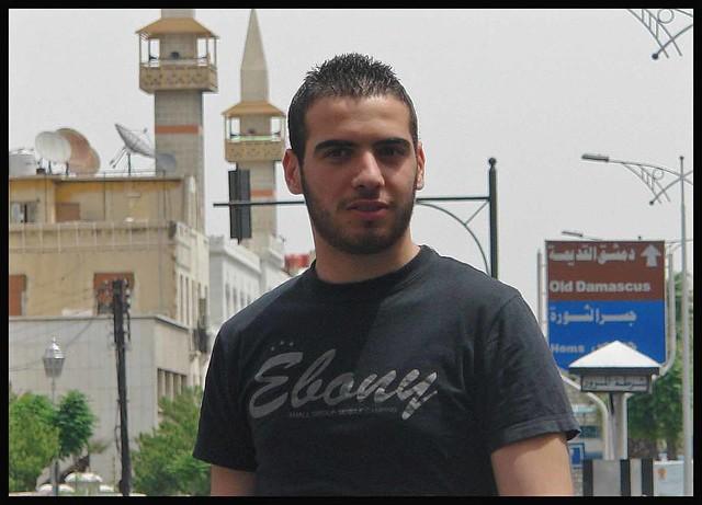 Ebony  - on the streets of Damascus