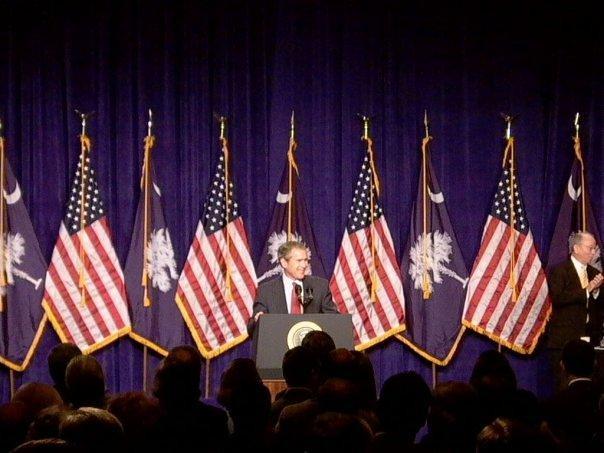 Bush Political Speech