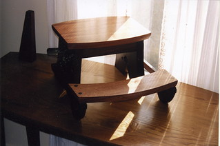 Child's Chair and step stool | by A. Drauglis