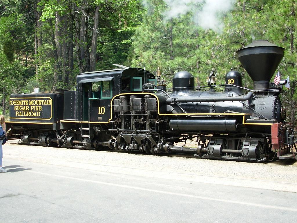 Yosemite Mountain Sugar Pine Railroad   Locomotive No. 10 ...