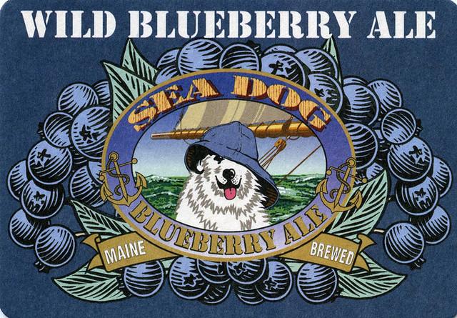 postcard & beer mat - Sea Dog Brewing