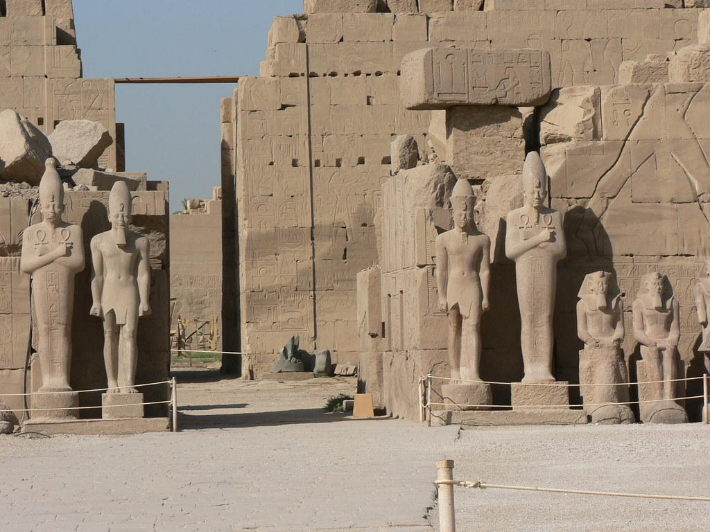 Resultado de imagen de Karnak y Luxor