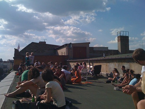 The Soundcloud roof top | by Nordgren