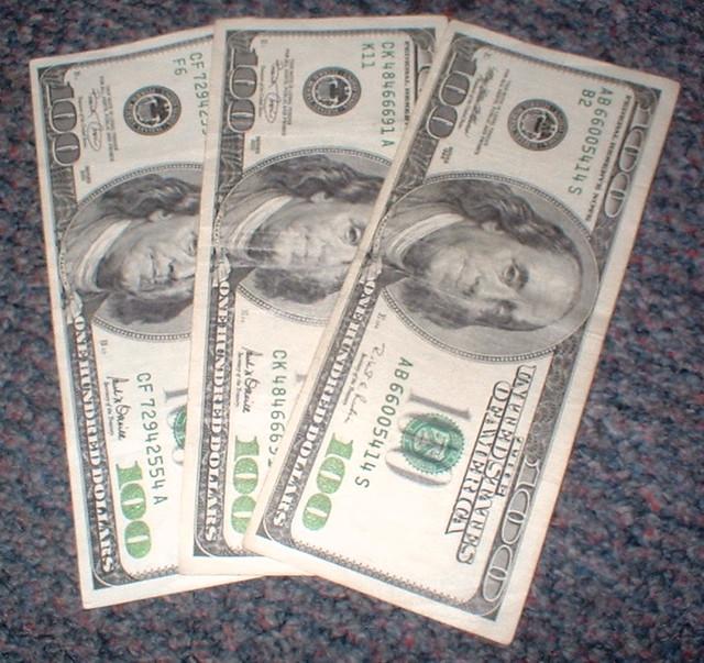 Day 28/366 - Christmas money