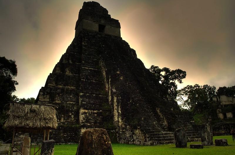 Tikal, Temple I - HDR