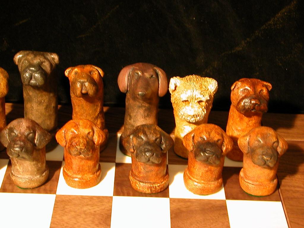 Chess set-dogs-002
