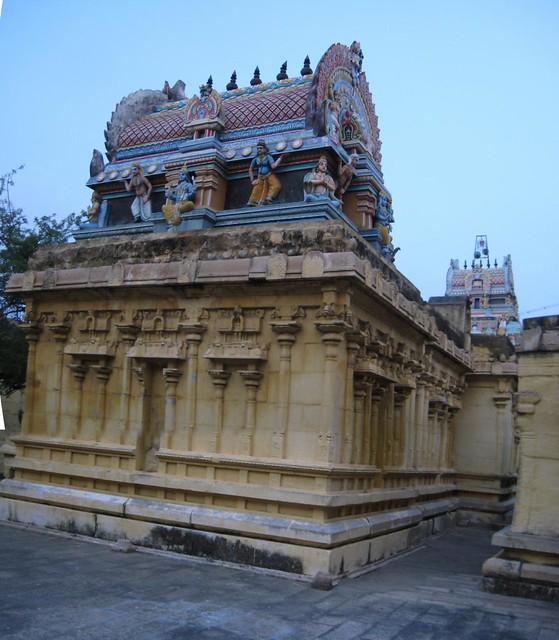 Backside of Main shrine