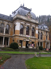 Lazner Building, Karlovy Vary, Front View
