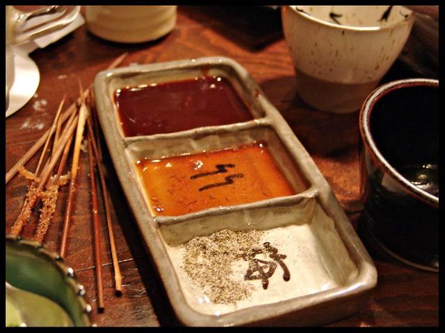 Japanese sauces