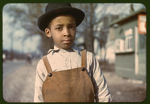 African American Boy (Colorized) | by Black History Album