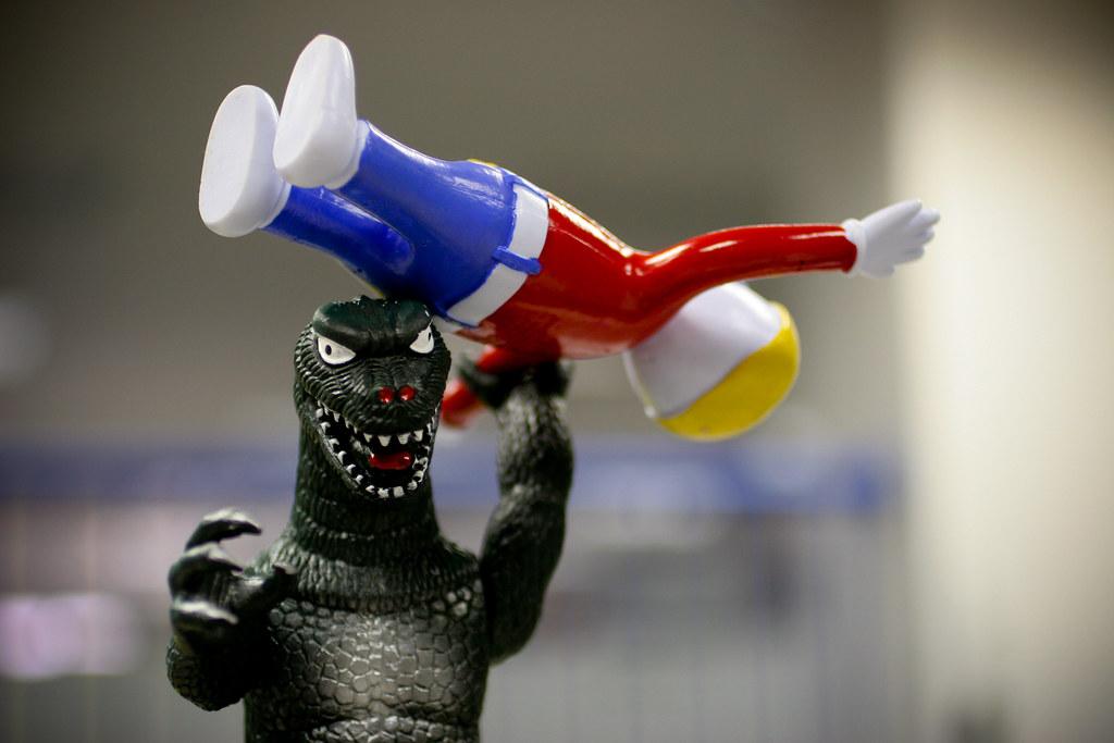 043: Godzilla vs. Mr. Bill