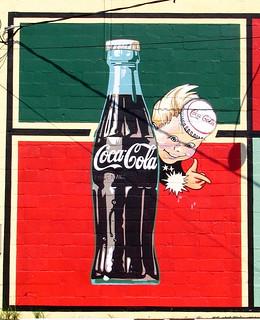retro Coke Mural - Lebanon, TN | by SeeMidTN.com (aka Brent)