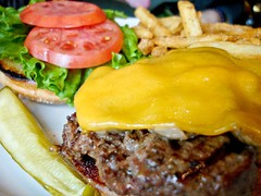 Mushroom Burger   by Culinary Fool