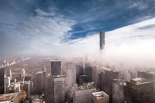 Fog & Central Park   by RBudhu